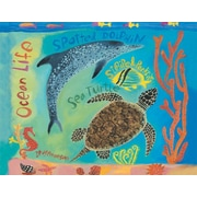 GreenBox Art 'Tropical Sea Creatures' by Donna Ingemanson Painting Print on Wrapped Canvas