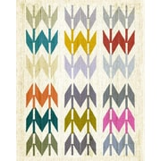Wheatpaste Navajo Arrows by Fancy That Design House and Co. Framed Graphic Art on Wrapped Canvas