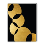 Americanflat Orbital by Khristian Howell Graphic Art in Gold