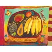 GreenBox Art 'Tropical Fruit' by Donna Ingemanson Painting Print on Wrapped Canvas