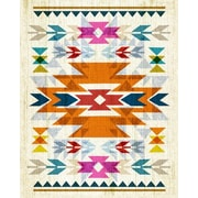 Wheatpaste Navajo by Fancy That Design House and Co. Framed Graphic Art on Wrapped Canvas