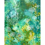 GreenBox Art 'Green Tea' by Stephanie Corfee Painting Print on Wrapped Canvas
