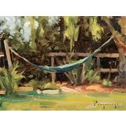 GreenBox Art 'Empty Hammock' by Stanislav Prokopenko Painting Print on Wrapped Canvas