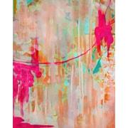GreenBox Art 'Neon Jellyfish' by Stephanie Corfee Painting Print on Canvas