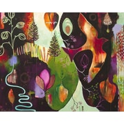 GreenBox Art Deep Peace by Flora Bowley Painting Print on Wrapped Canvas