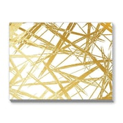 Americanflat Stokes by Khristian Howell Graphic Art in Gold