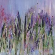 GreenBox Art Violet Haze by Deborah Brenner Painting Print on Wrapped Canvas