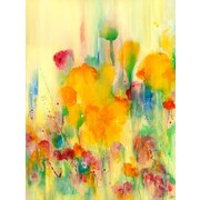 GreenBox Art Sienna Rose by Deborah Brenner Painting Print on Wrapped Canvas