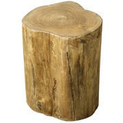 New Pacific Direct Tree Stump Low Accent Stool