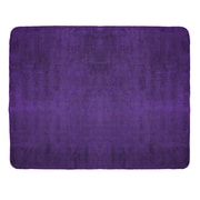 Terry Town  Blanket; Purple