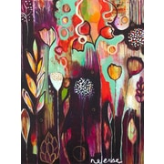 GreenBox Art Release by Flora Bowley Painting Print on Wrapped Canvas; 40'' H x 30'' W x 1.5'' D