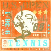 Oopsy Daisy Tennis by Roger Groth Printed Painting on Wrapped Canvas; 30'' H x 30'' W x 1.5'' D