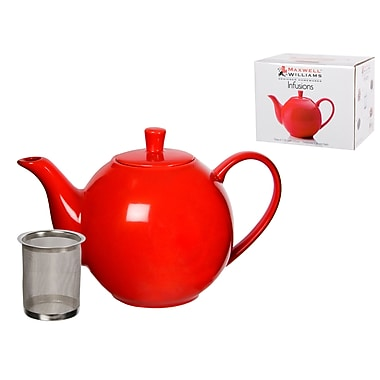 Maxwell & Williams Infusions Teapot, Red