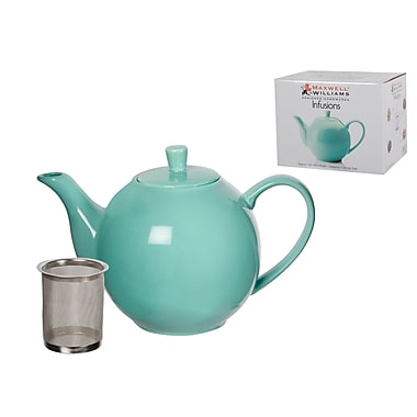 Maxwell & Williams Infusions Teapot, Aqua