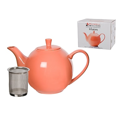 Maxwell & Williams Infusions Teapot, Coral