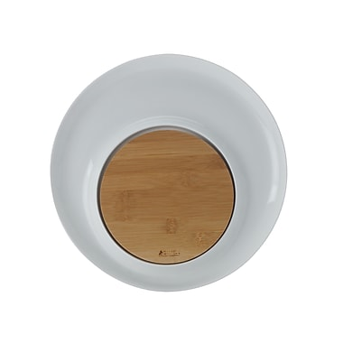 Maxwell & Williams Bamboo Basics Round Platter with Bamboo Insert