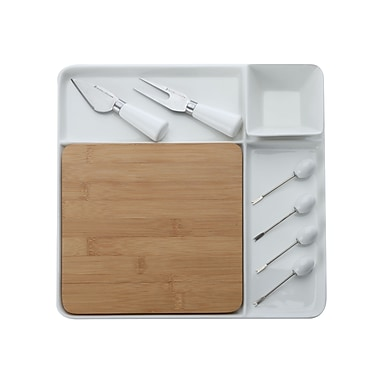 Maxwell & Williams Bamboo Basics 9-Piece Square Entertainment Set