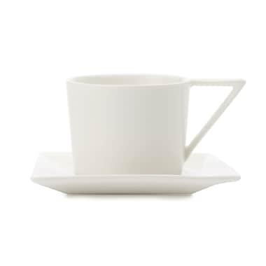 Maxwell & Williams ZiiZ Demi Tasse Cup & Saucer, 12/Pack