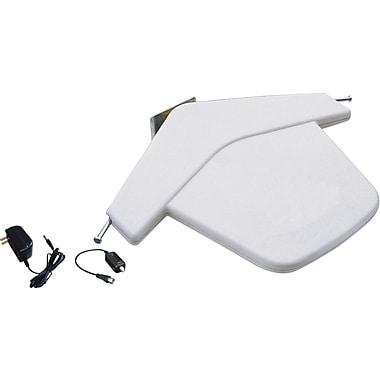 Electronic Master – Antenne numérique extérieure pour téléviseur HD, 3 x 17,2 x 6 (po), blanc