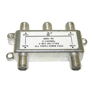 Digiwave 4 Way Splitter (5-2400Mhz), 2.5