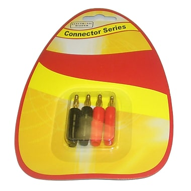 Electronic Master Banana Plugs, 0.3