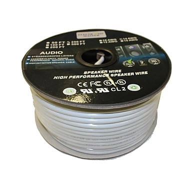 Electronic Master 250' 2 Wire Speaker Cable with 14awg, 5.5