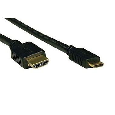 Electronic Master 6' Male to Mini Male HDMI Cable, 0.8