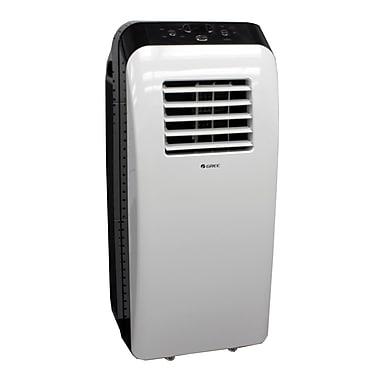 Gree – Climatiseur portable 10 000 BTU, 13 x 30,3 x 13 po, blanc/noir