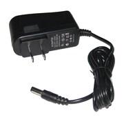 Adaptateur d'alimentation SeqCam avec DC12V et 1000mA, 1,8 x 2,3 x 3 po, noir
