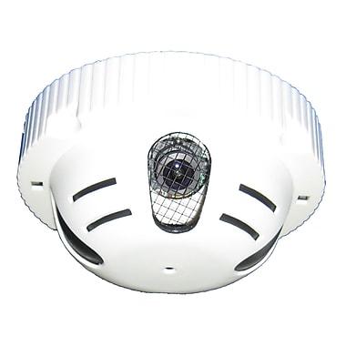 SeqCam – Caméra de sécurité couleur dissimulée SEQ7113, 6 po x 6 po x 3 po, blanc