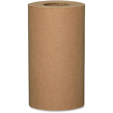 Metro Paper 2-Ply Economical Roll Kraft Paper Towels, Fibre Brown, 24 Rolls/Box