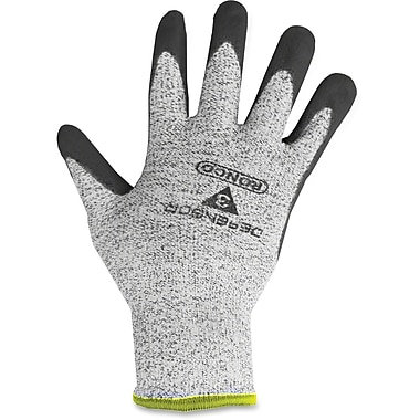 Ronco DEFENSOR Palm Coated HPPE Gloves, Grey, Large, 6 Pairs/Box