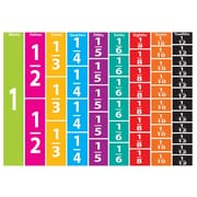Ashley Math Die Cut Magnet, Comparative Fractions