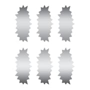 Eureka® Scratch Off Stickers, Star Bursts, 5/Pack