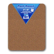 "Flipside Cork Bulletin Board, Natural, 12"" x 18"""