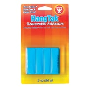 Hygloss HangTak Removable Adhesive, 2 oz., Blue, 12/Pack