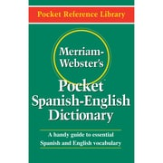 """Merriam-Webster's Pocket Spanish-English Dictionary"""