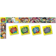 North Star Teacher Resources Bulletin Board Trimmer, Superheroes All Around the Board, 5/Pack