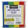 Sargent Art Solid Color Modeling Clay, Primary Colors