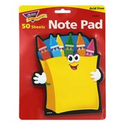 Trend Enterprises® Note Pad, Crayons, 8/Pack