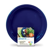 Preserve Reusable Plate (Set of 8); Midnight Blue