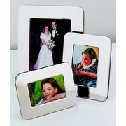 Creative Gifts International Radius Picture Frame; 4'' x 6''