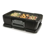 Carlisle Food Service Products 4'' IT Carrier Single Pan; Onyx