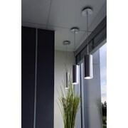 SLV Lighting Enola 1 Light Mini Pendant; Brushed Aluminum