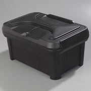 Carlisle Food Service Products Cateraide  24-qt. Slide 'N Seal  Top Load Pan Carrier; Black