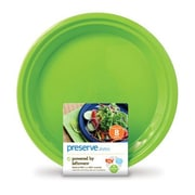 Preserve Reusable Plate (Set of 8); Apple Green