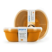 Preserve Food Storage Container (Set of 2); Orange