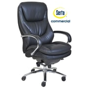Serta at Home Series 500 Puresoft  High-Back Executive Chair; Black