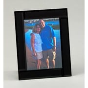 Creative Gifts International Midnight Picture Frame; 4'' x 6''