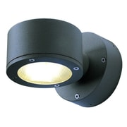 SLV Lighting Sitra 1 Light Wall Outdoor Wall Sconce; Anthracite